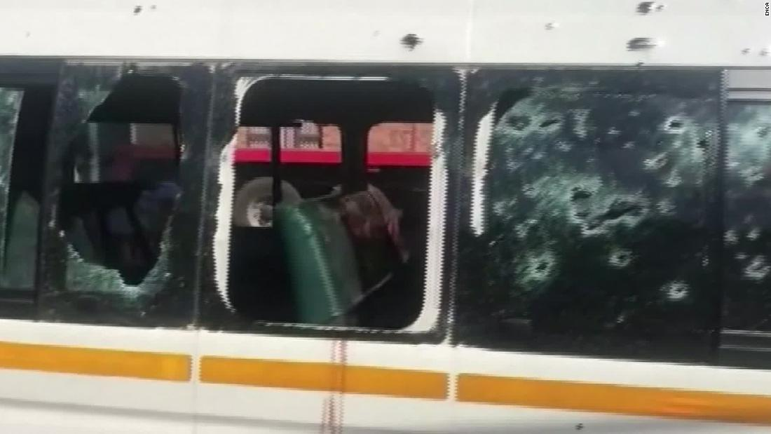 11 taxi drivers killed in a taxi bus while heading back from a funeral in South Africa