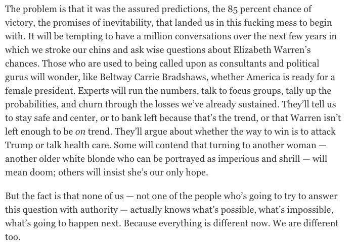 RT @rmc031: truth from @rtraister's new Elizabeth Warren profile https://t.co/yIMABbMjhZ https://t.co/MCOB66uf3F