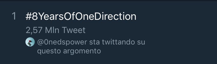 #8YearsOfOneDirection