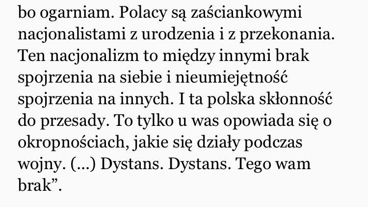 #gombrowicz o Polakach. Bardzo t