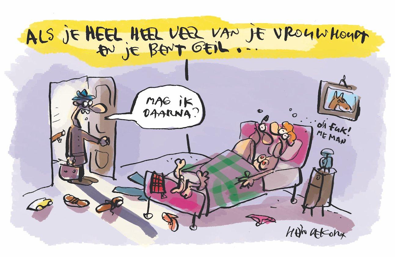 De nieuwe cartoon van Hein de Kort...hopelijk is ie niet té herkenbaar. https://t.co/BEZbqypdrE