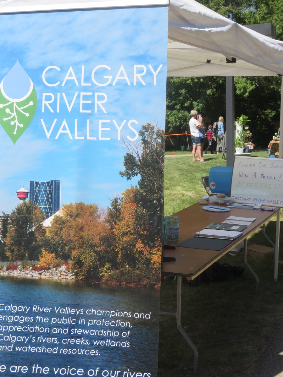 test Twitter Media - Thanks to all who came out to #Creekfest @fish_creek to learn abt riparian zones (transition zone betw river & land) & their important eco role, for our #RiverbankMakeover project we are doing with support from @cityofcalgary https://t.co/DKvSmQmUHo