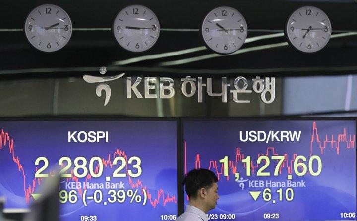 @BroadcastImagem: Bolsas da Ásia fecham sem sinal único e com questão comercial e iene em foco. Lee Jin-man/AP