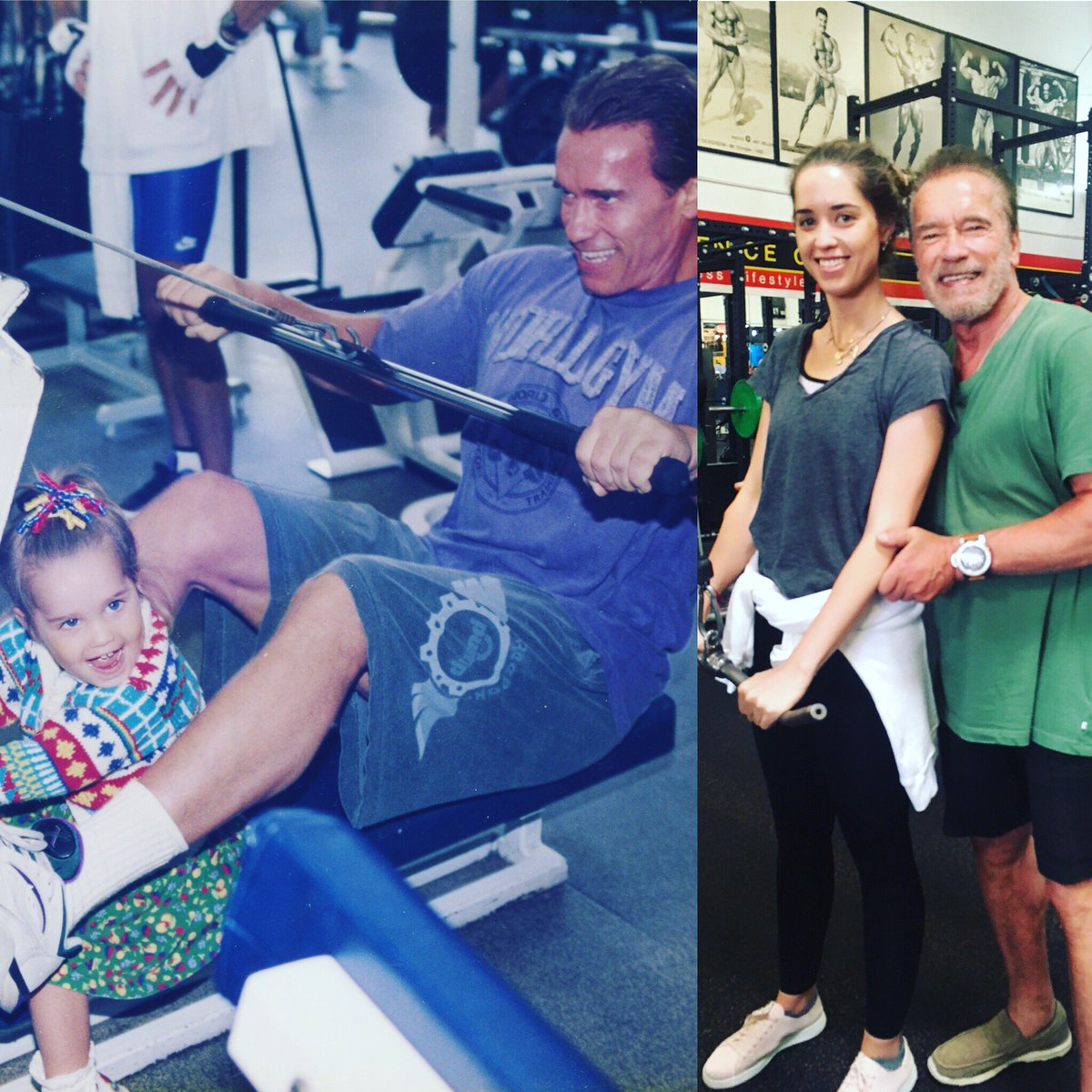 Happy birthday @CSchwarzenegger! You've always been my favorite training partner! I love you. https://t.co/cs6nudxCCk