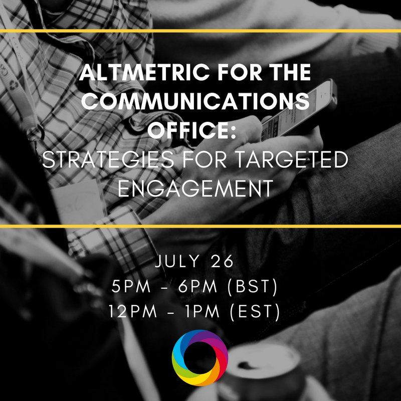 test Twitter Media - .@heidibeckerdata shares effective engagement strategies for institutional communications offices in our next webinar this Thursday. https://t.co/odoSY34pP4  #scholcomm #scicomm #libchat #altmetrics @TriangleSCI @ScholCommons @ScholCommUCLA @theidealis @StevensSchComm https://t.co/Zue1KVp4TS