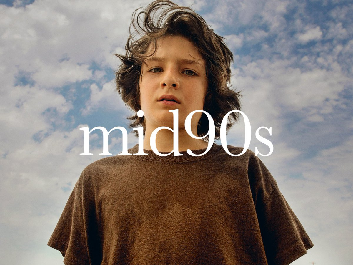 RT @A24: You wouldn't trade it for the world. From writer/director @JonahHill, this is #mid90s. October 19 https://t.co/8RwHsIRhNg