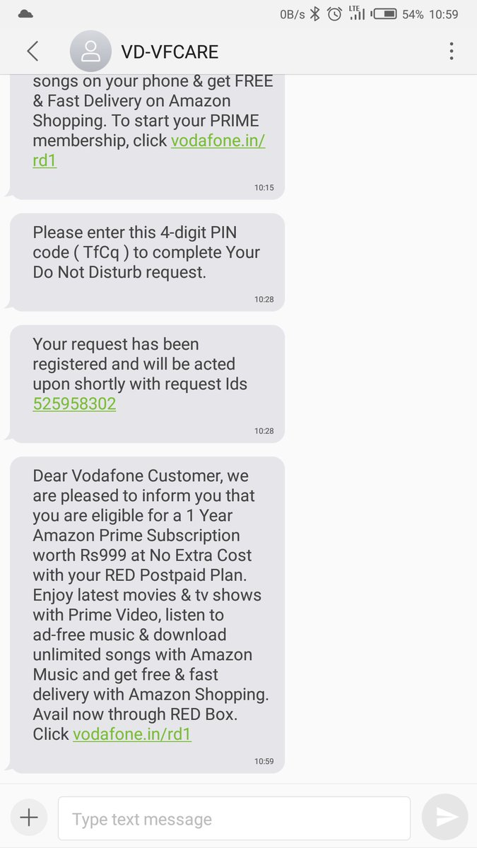 RT @Psilosophy: The level of spam from @VodafoneIN is unreal! https://t.co/JM8izLxgGx