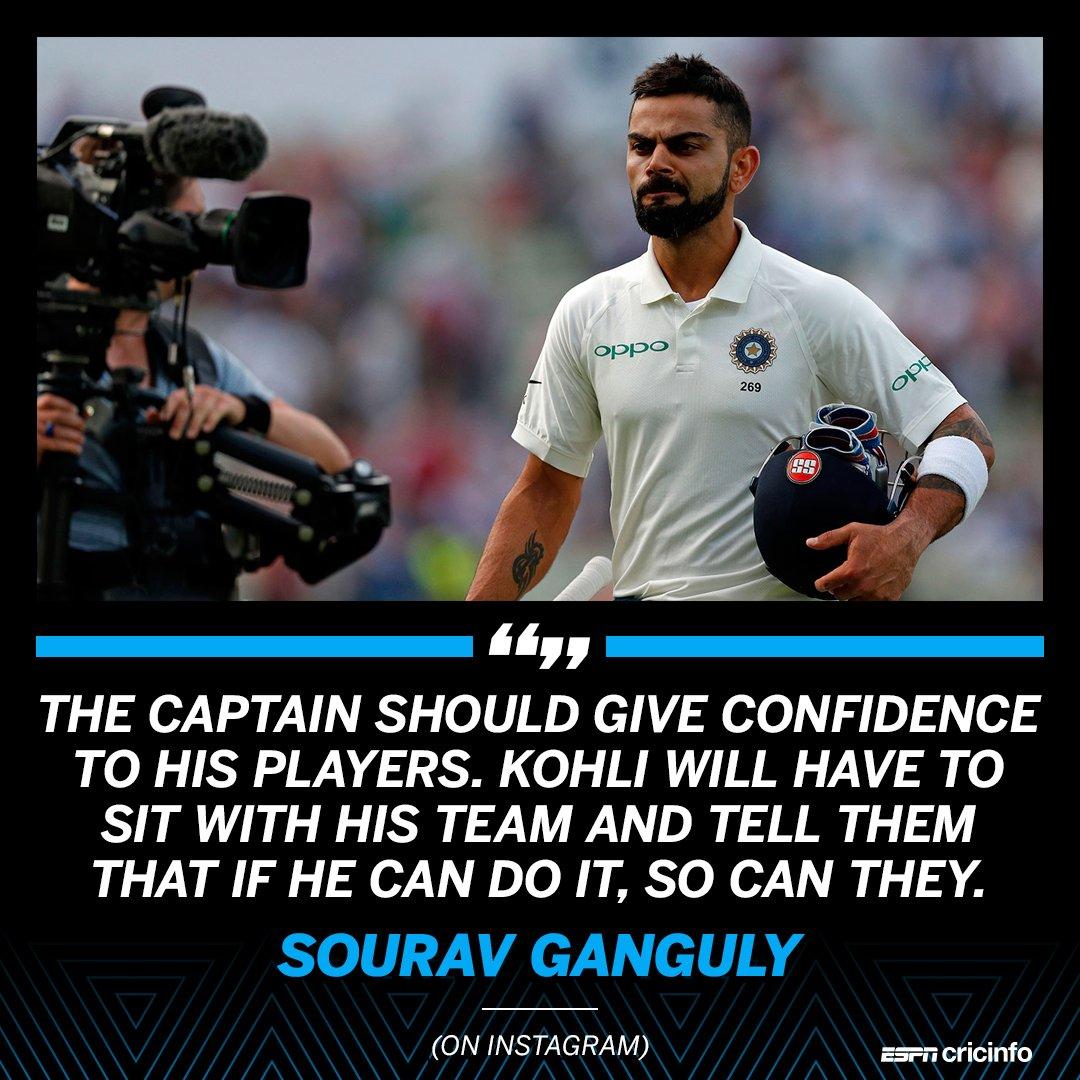 Sourav Ganguly wants more from Virat Kohli on the captaincy front https://t.co/9RtQsqx2rL https://t.co/vUFHyIiPeY