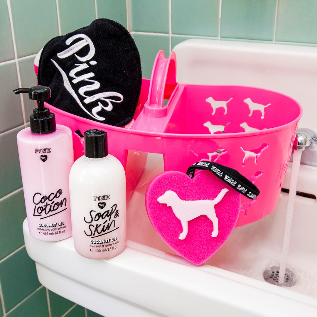 Keep calm🙏 it\'s self-care sunday! score a pink beauty shower caddy ...