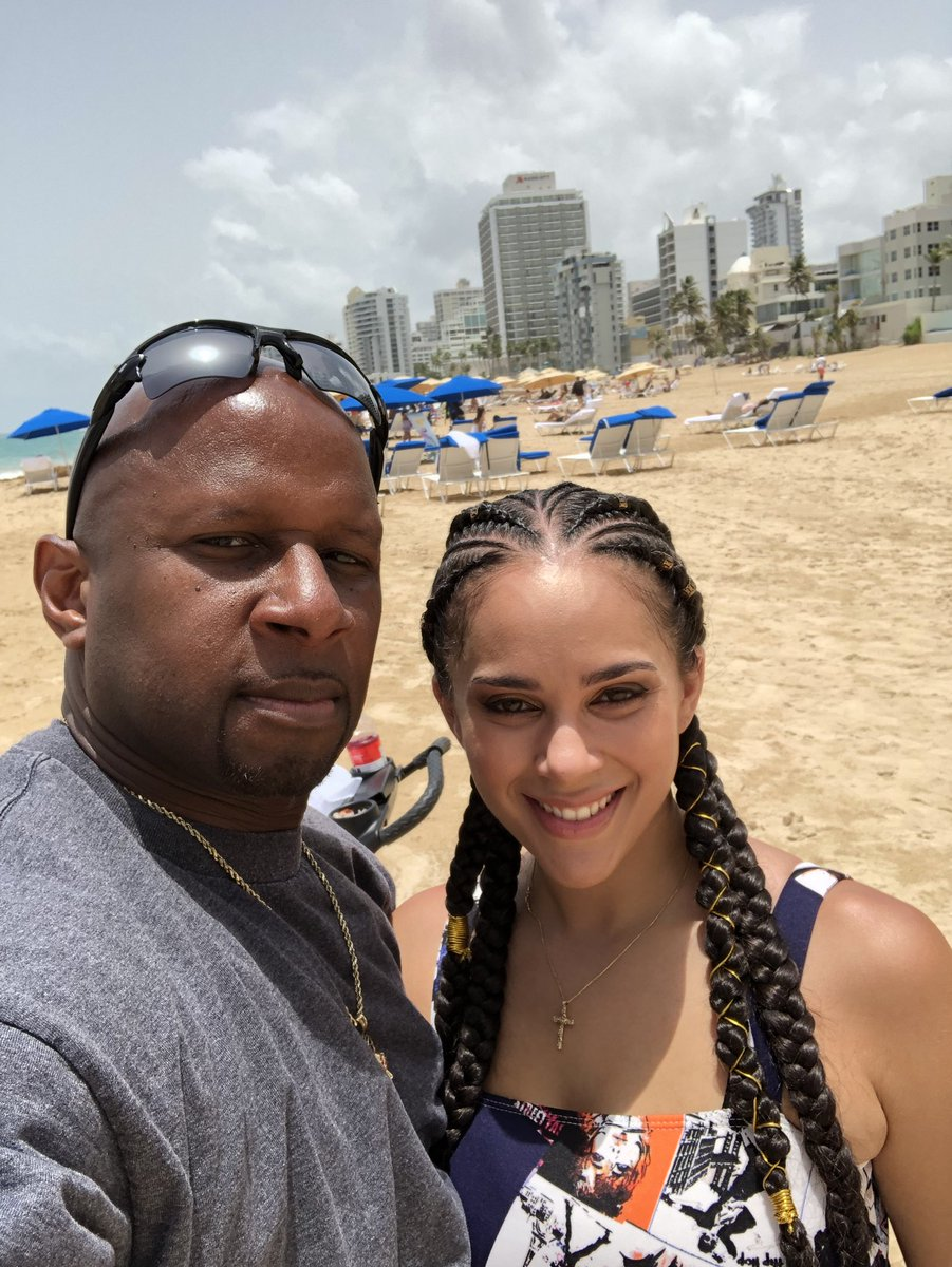Haven on earth 🌏, here in San Juan Puerto Rico 🇵🇷. The Queen 👑 & I... CctDqO5OS8