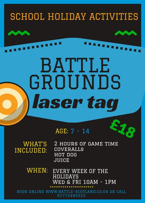 Image for Looking for something for the kids to do during the next few weeks of the summer holidays? Book them in for our #schoolsout laser tag sessions each Wednesday and Friday from 10am-1pm. Spaces available this week on Friday the 10th so Book Now! https://t.co