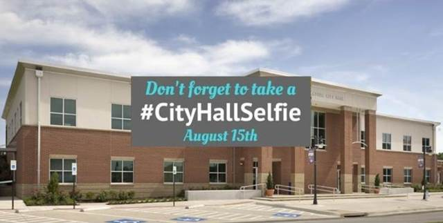 test Twitter Media - Save the date! National #CityHallSelfie Day is Wednesday, August 15th. The goal is to break the record for city hall selfies taken in one day. Grab a friend, come down to @parkvillemo City Hall at 8880 Clark Avenue, snap a picture and post. https://t.co/7jHPXrTzOa