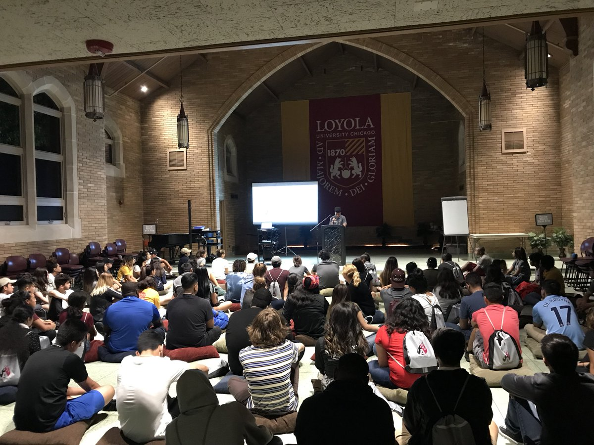RT @ArrupeChicago: We've had a great start to the Spirit of Arrupe Orientation program for our Class of 2020! https://t.co/I2n3p4Jcj0