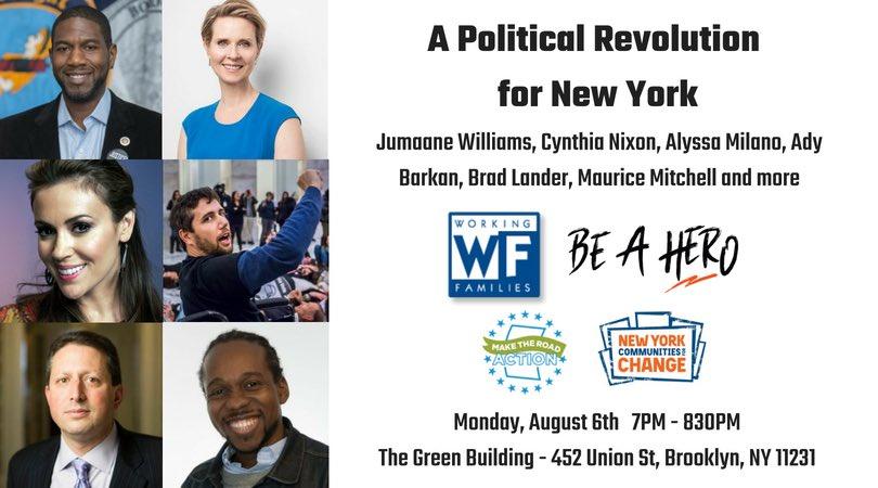 Brooklyn! Who's coming? https://t.co/ZyKmjK5UKG
