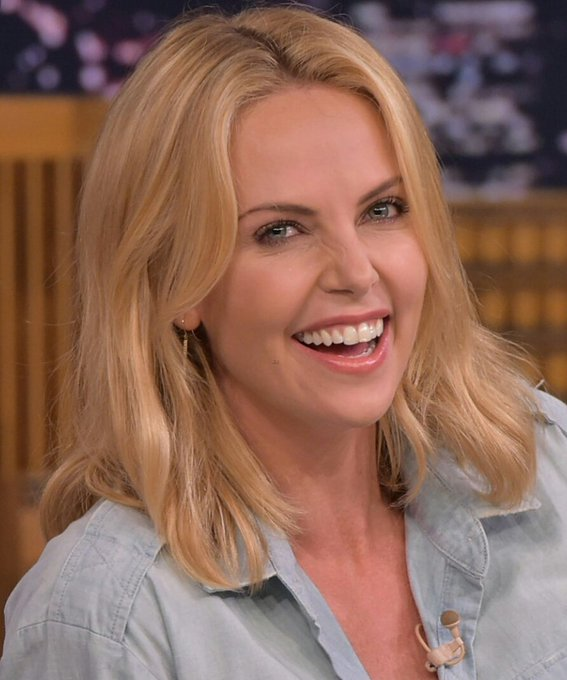 Happy birthday to the super beautiful and super talented Charlize Theron!!! You are amazing!