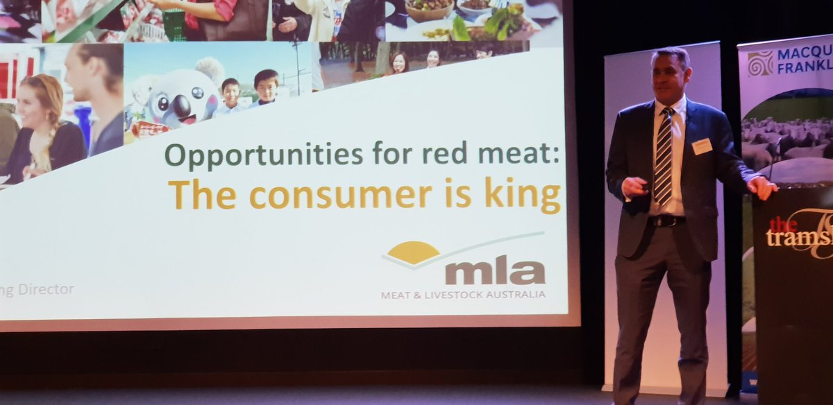 Key note address @#RedMeatUpdates by...