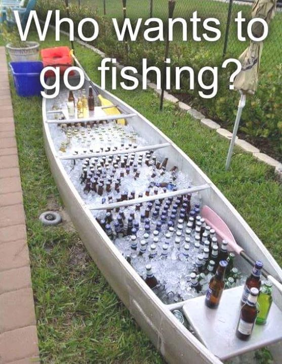 Who wants to go fishing this weekend with me? I'll bring the #wine! https://t.co/VgJoHF9uJc