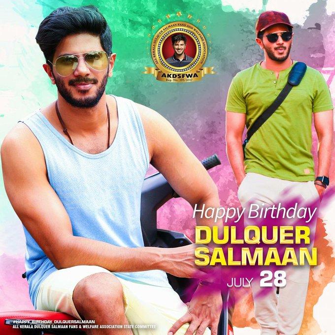 ikka  Wishing DQ Happy Birthday  Here is the Dulquer Salmaan Fans Common DP