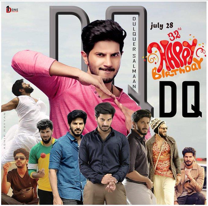 Wishing DQ Happy Birthday  Dulquer Salmaan  Fans Common DP