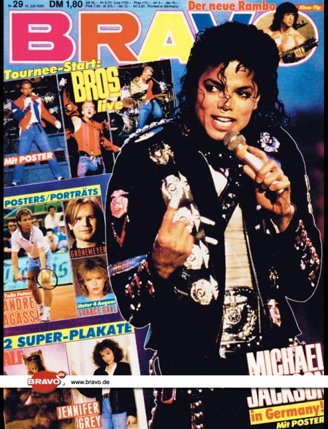 The greatest hits of michael jackson
