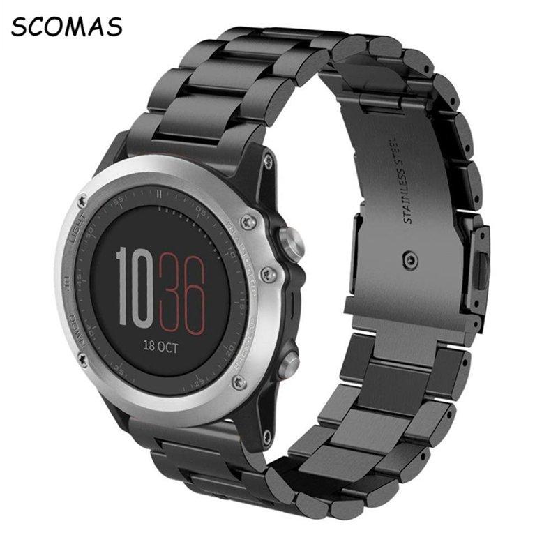 SCOMAS Metal Stainless Steel Watch Band Strap For Garmin Fenix 3 Sports watchband for Garmin fenix 5x Replacement watch Strap #smart #stimulator #accessories #earphones #watch #bracelet https://t.co/07jRWQqGQw