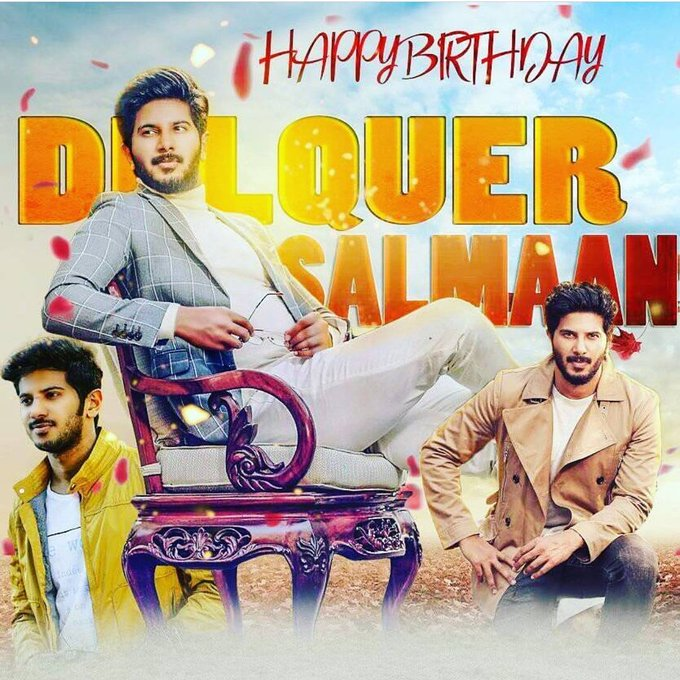 Happy Birthday dear Dulquer Salmaan kujikka