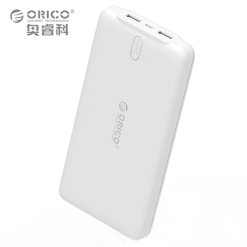 #smartphones ORICO 20000mAh Power Bank Portable Charger Dual USB Powerbank Ex...