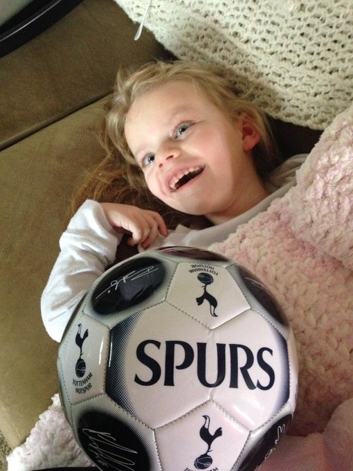 Happy birthday to Grace\s favorite player, Harry Kane! Someday she will get to see the in person!!!!