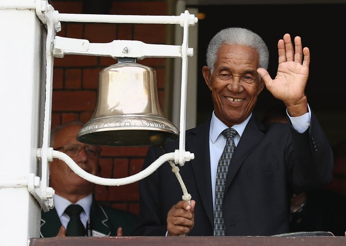 Happy Birthday to Nottinghamshire legend Sir Garfield Sobers who is 82 not out today