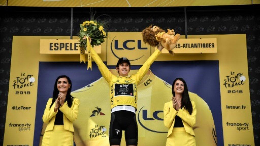 Thomas virtually secures Tour de France title