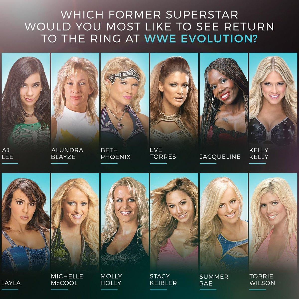 RT @WWE: ???????????? #WWEEvolution https://t.co/ZFFGQoFGOh