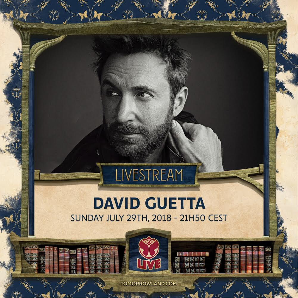 Watch me live from @tomorrowland at 9:50 pm CEST ! ???????? https://t.co/U0RH8P4Etc https://t.co/hby7UhzJze