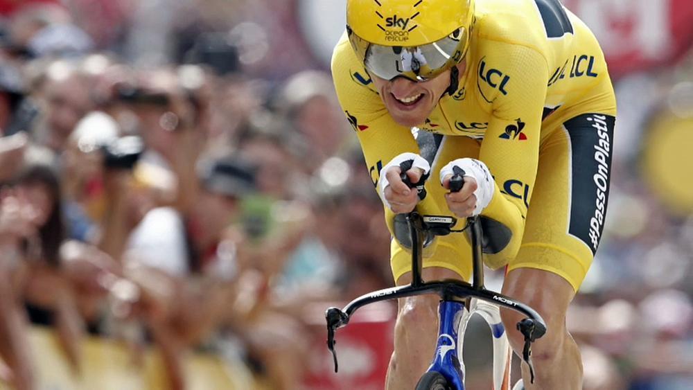 Britain's Thomas wins maiden Tour de France