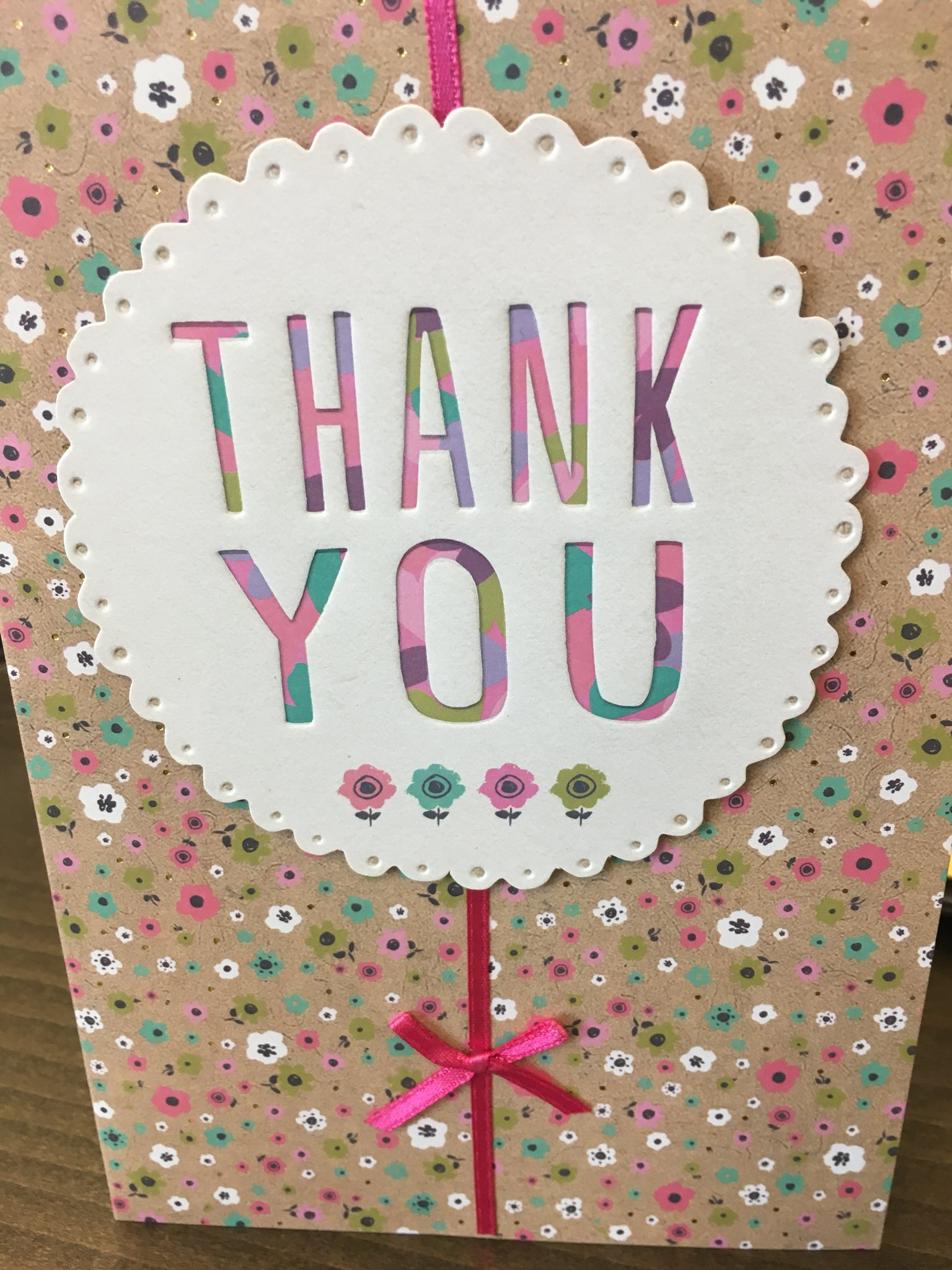 A big #ThankYou to #KhushiIssuar our #WorkExperience #student from @rusheymeadnews for my card this morning! #brightened up my morning! #worldofwork @Highcross @CareerEnt https://t.co/RtPh34d4EB