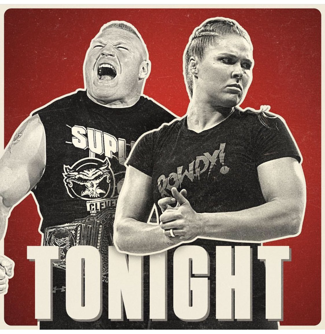 Don't miss Monday Night #RAW tonight on @usa_network!!!! The #BeastandtheBaddest are back!!!! https://t.co/gDnnGrs0MQ