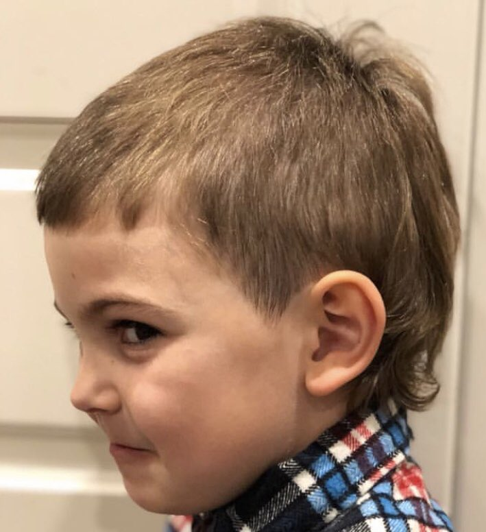 Meet The Mullet Fitzys Son Lenny Is Embracing His Genes With A New
