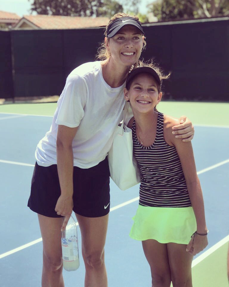 Best way to end a week of practice ???? It was nice meeting you, Athena???? https://t.co/JmigxgqhUs