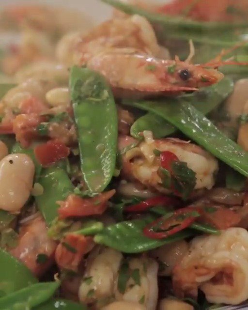 Pan cooked prawns make a delicious and #healthy mid-week meal. That's dinner sorted! https://t.co/Ymn53zQ7jn