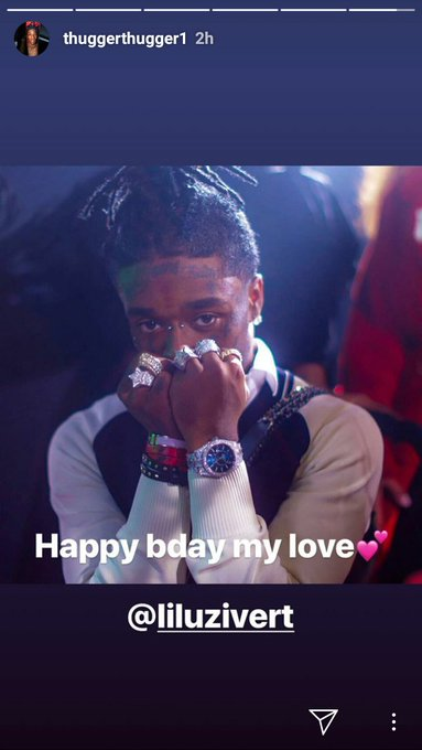 Young Thug wishes his love a happy birthday