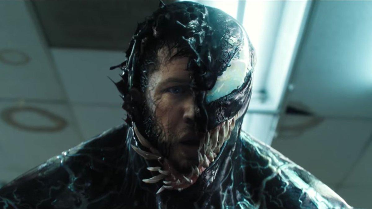 Tom Hardy Splits Into Two Very Opposite Personalities In New Venom Trailer