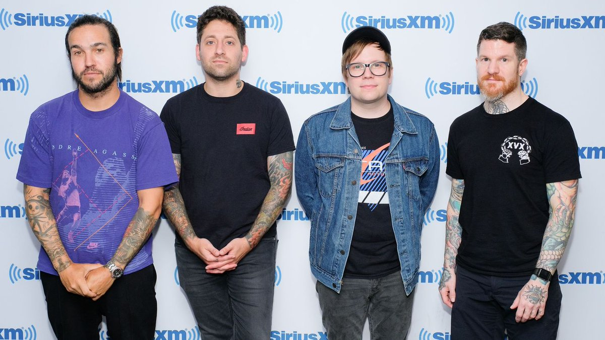 Fall Out Boy Covering Ariana Grande's 'No Tears Left To Cry' Is Pop-Punk Perfection