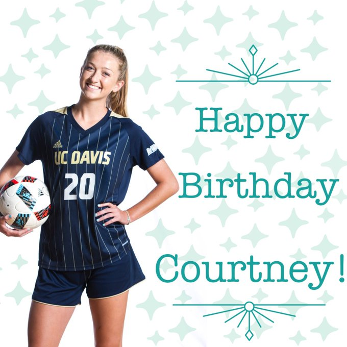 Happy Birthday Courtney!!! Hope you have a wonderful day!