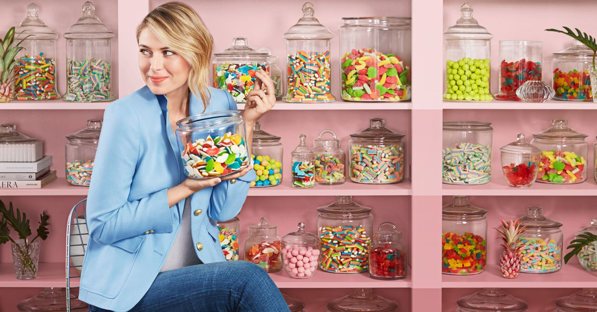 RT @CNBCi: How Maria Sharapova turned her love of candy into a business https://t.co/L9vy5FgTKN https://t.co/yTcxB75AOd
