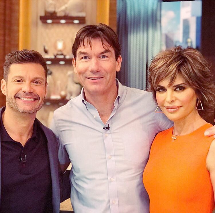 DAY 2. @LiveKellyRyan @ryanseacrest @MrJerryOC ???? Had so much Fun!!! https://t.co/gMdnYL66JJ