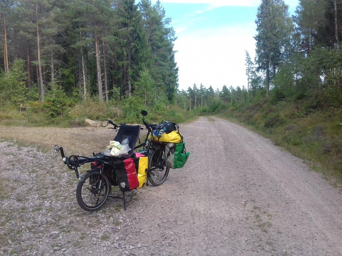 La Suède par les petites routes forestières : calme et lenteur !