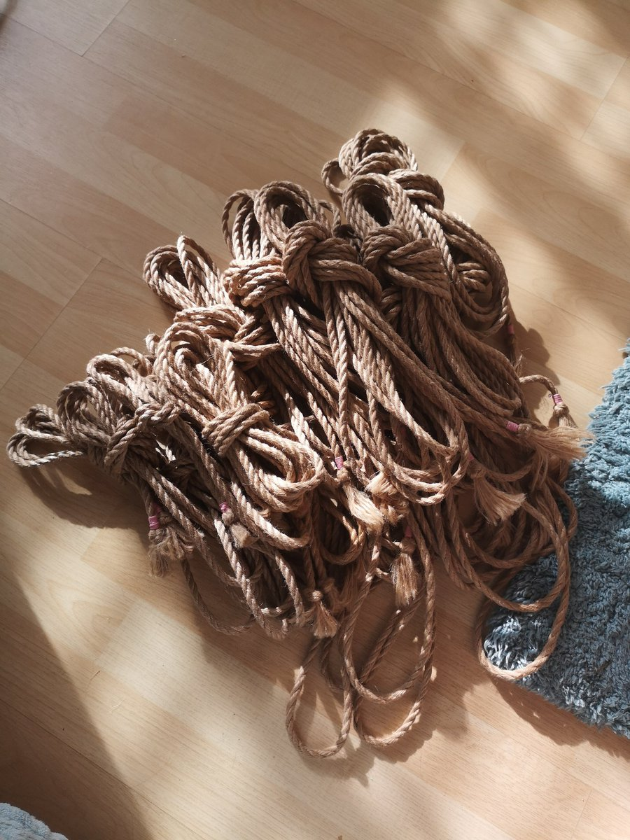 My ropes all oiled and ready for the weekend :D mJpHjJHn6E