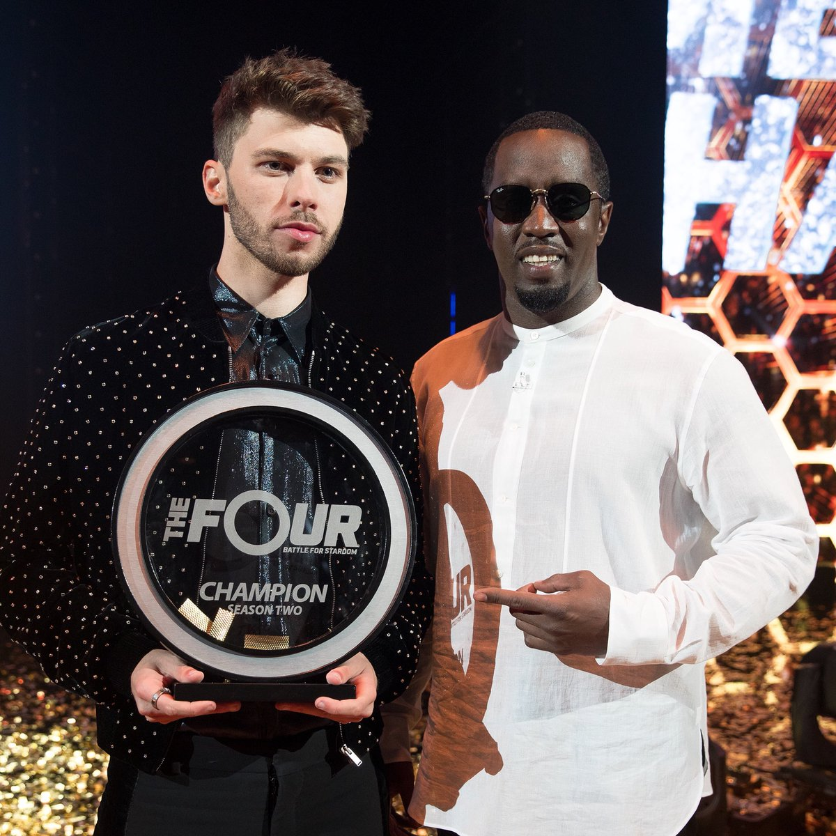 RT @Diddy: Congratulations @itsjamesgraham on winning Season 2 of #TheFour! Let's get it! https://t.co/kUGhRMITnw