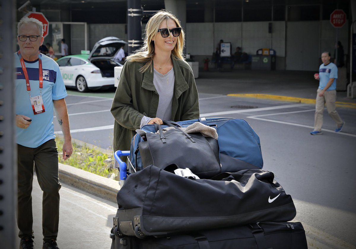 RT @CoupeRogers: She's back!???? @MariaSharapova #CoupeRogers @aeroportsMTL https://t.co/gpwLjcd0kx
