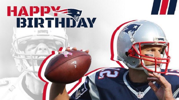 REmessage to wish Tom Brady the 5x Super Bowl champion & greatest QB ever a Happy 41st Birthday!!