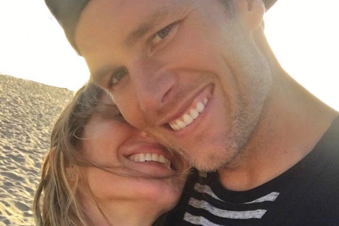 Gisele Bundchen wishes Tom Brady a happy 41st birthday with adorable Instagram selfie